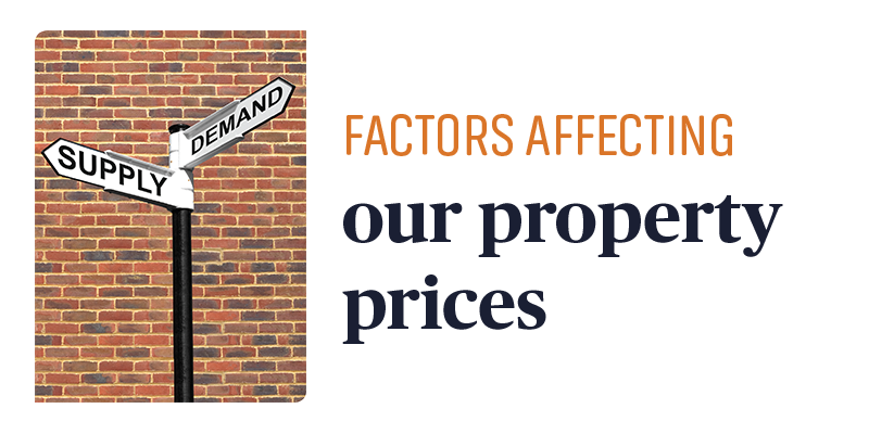 Factors affecting our property prices