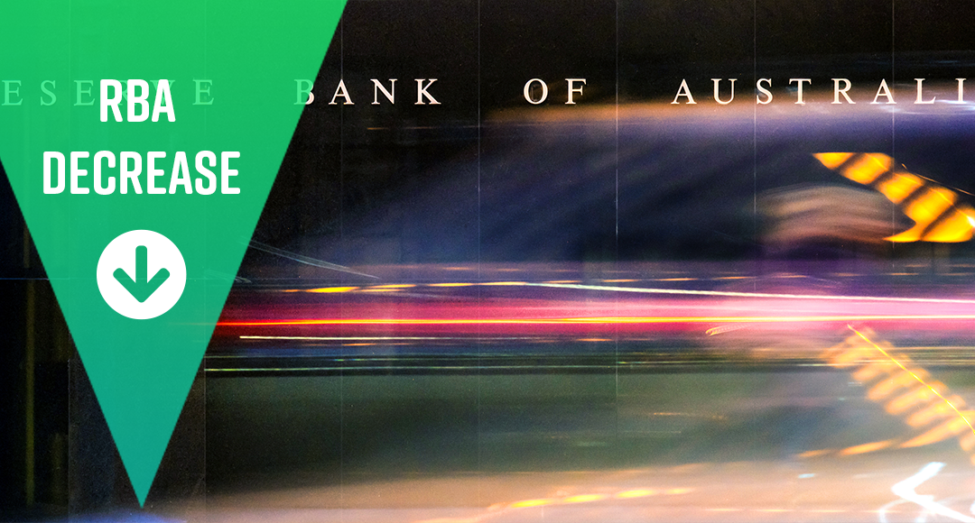RBA cash rate decreased at 1.25%